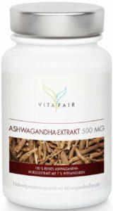 Ashwagandha Extrakt 500 mg in Dose